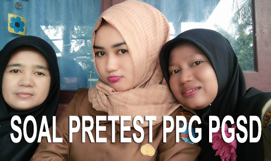Soal Pretest PPG SD