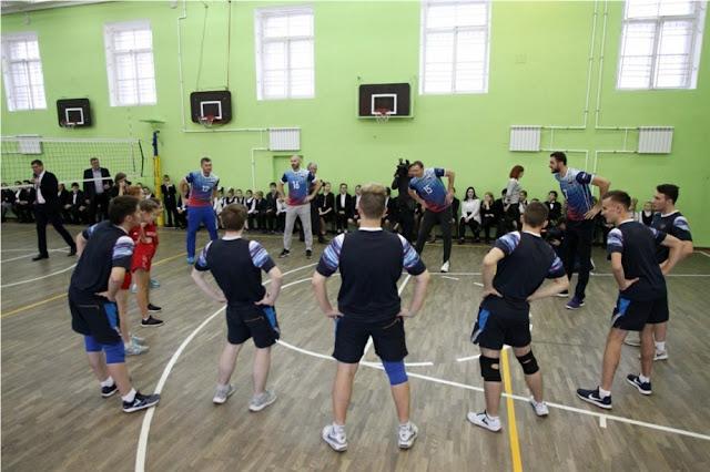 Dự án bóng chuyền trong trường học đang được phát triển ở Nga