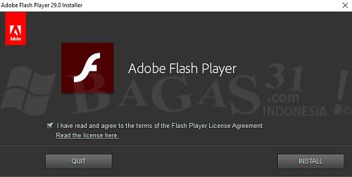 Cara Install Adobe Flash Player Paling Mudah