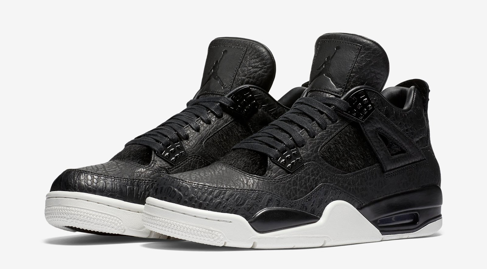 4e45462d86236c This is the first Air Jordan 4 Retro Premium release of 2016. They come in  a black