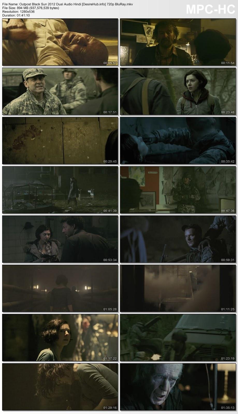 Outpost: Black Sun 2012 Dual Audio Hindi 480p BluRay 300MB Desirehub