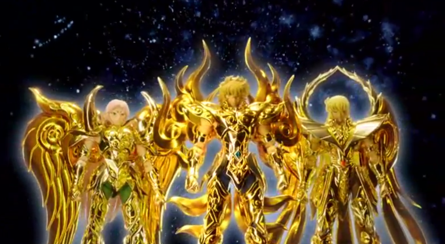 Saint Seiya Soul of Gold Commercial