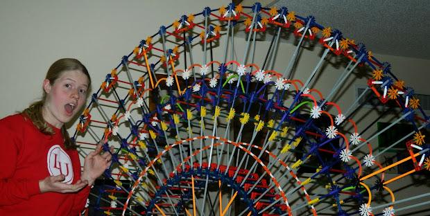 Knextravagant Kreations Big Build Ferris Wheel - Part 3