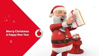 My Vodafone Spot the Santa Offer Answer