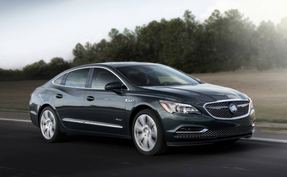 2020 Buick LaCrosse redesign