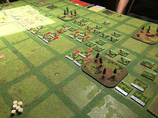 German units begin the assault