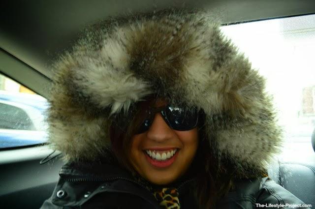bundled up cold
