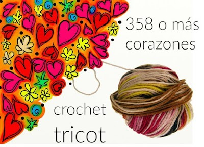 358 o mas Corazones tejidos para San Valentin