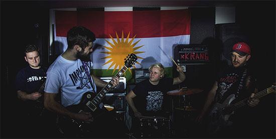 <center>KRANG premiere new video for 'Lions Of Kurdistan'</center>