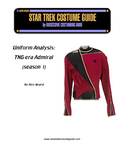 TNG season 1 admiral uniform analysis