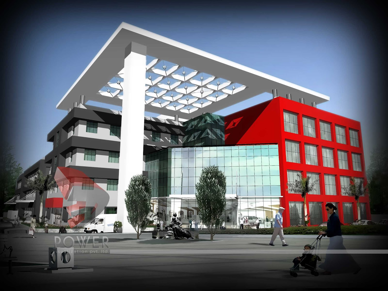 Modern Hospital Architecture Hospital Healthcare Design Indian Healthcare Industry Looks