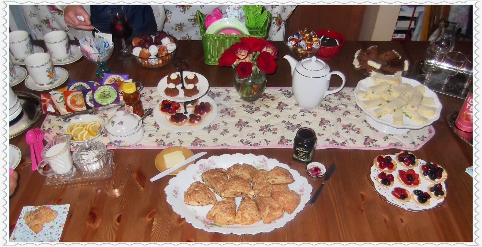 Rosie S Country Baking Tea Party Menu