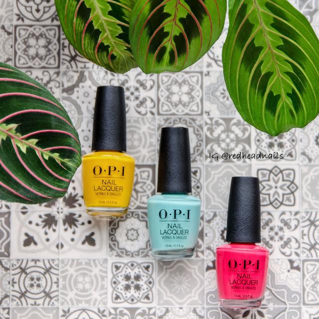 Kolekcja OPI Lisbon - swatche
