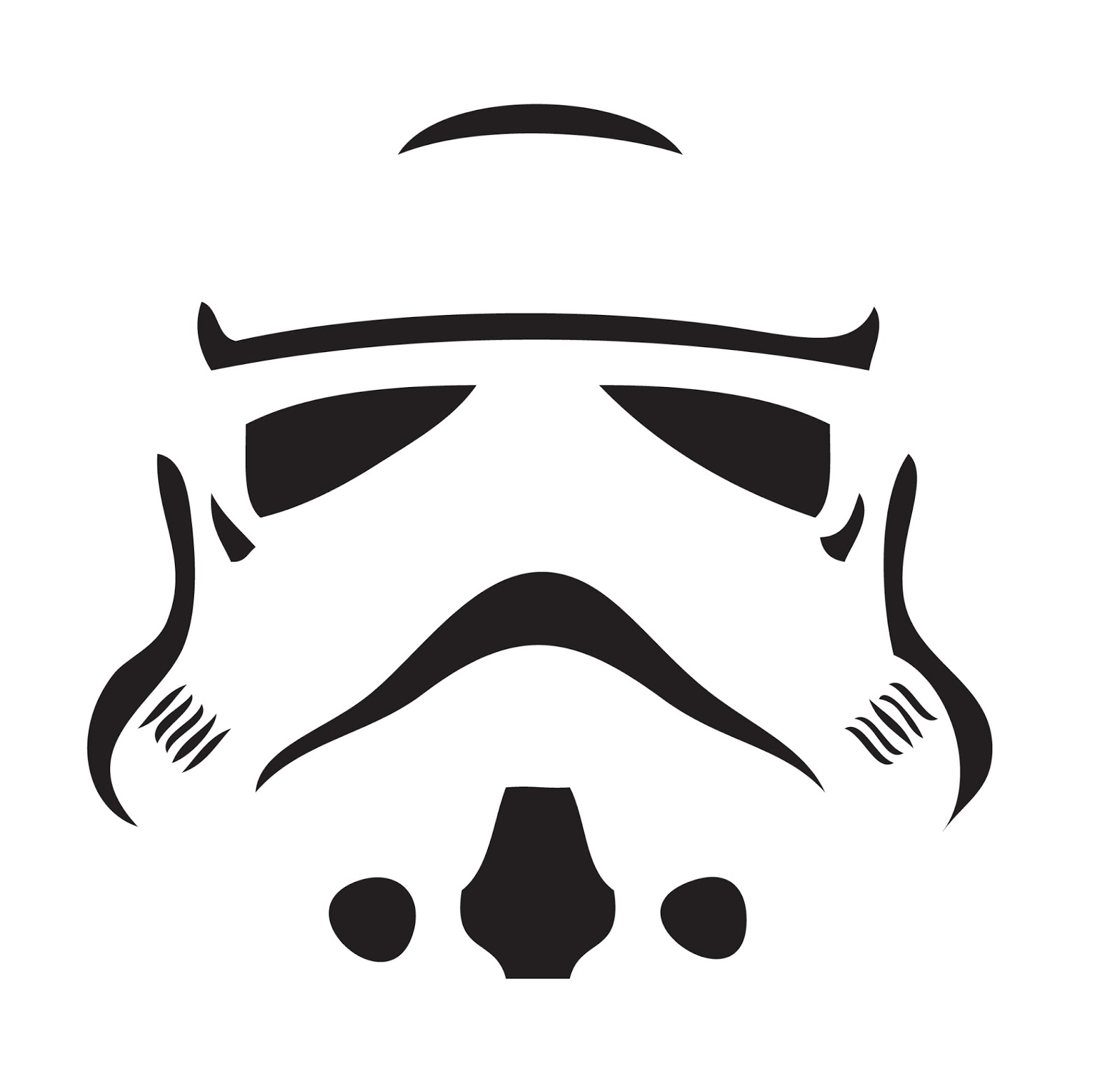Star wars pumpkin stencils carving pattern outline free