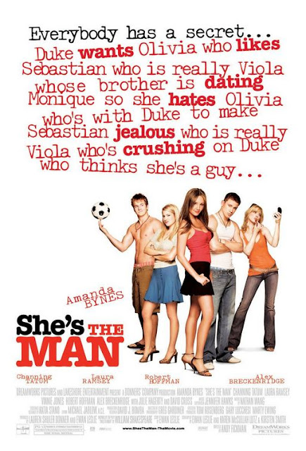 poster She's the Man 2006 Full Movie Download Dual Audio 720p