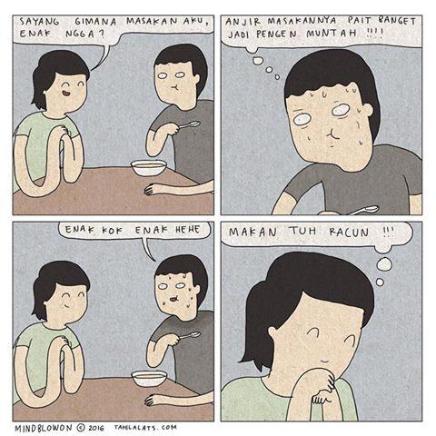 Kumpulan Komik Strip Lucu Tahilalats #10