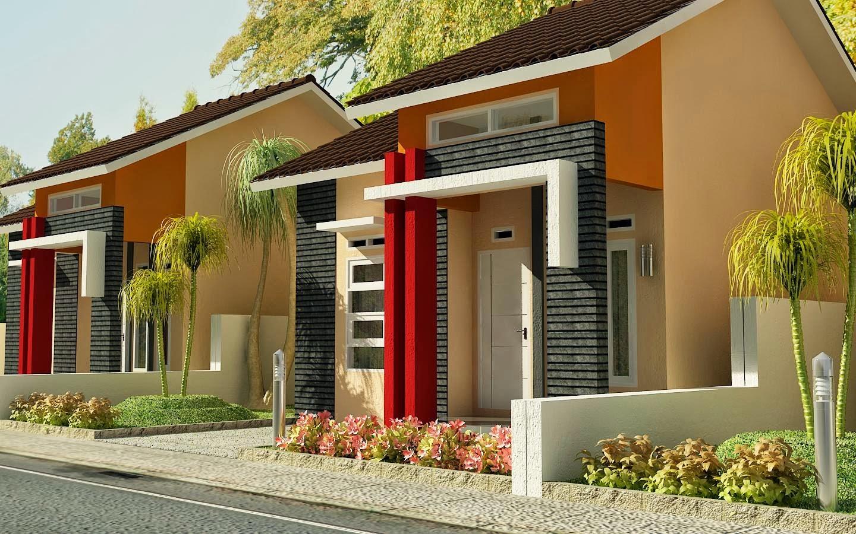 Contoh Desain Rumah Minimalis Type 54 Desain Denah Rumah