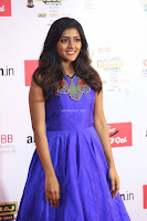 Eesha in Cute Blue Sleevelss Short Frock at Mirchi Music Awards South 2017 ~  Exclusive Celebrities Galleries 010.JPG