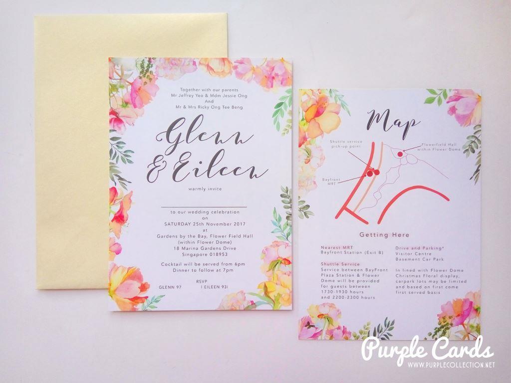 Wedding Invitation Envelopes Canada: Wedding Card Malaysia By PurpleCollection