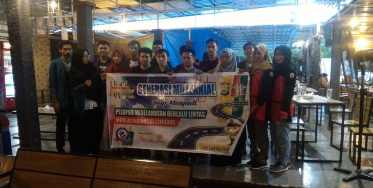 Satlantas Polres Wajo Intes Sosialisasi Sukseskan MRSF