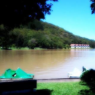 Pedalinhos na Lagoa da Harmonia, Teutônia