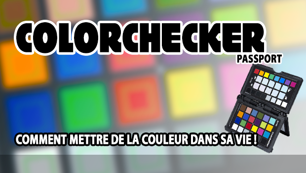 Illustration de l'article sur le Color Checker Passport de X-Rite
