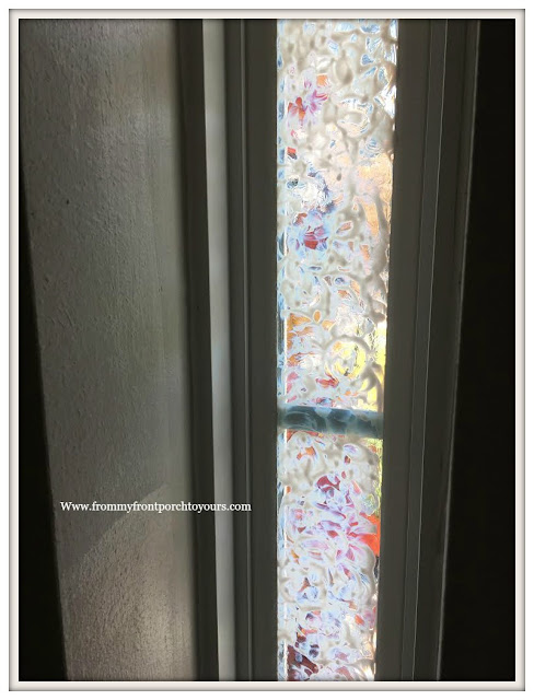 Privacy-Front Door Windows-DIY-Gallery Glass-From My Front Porch To Yours