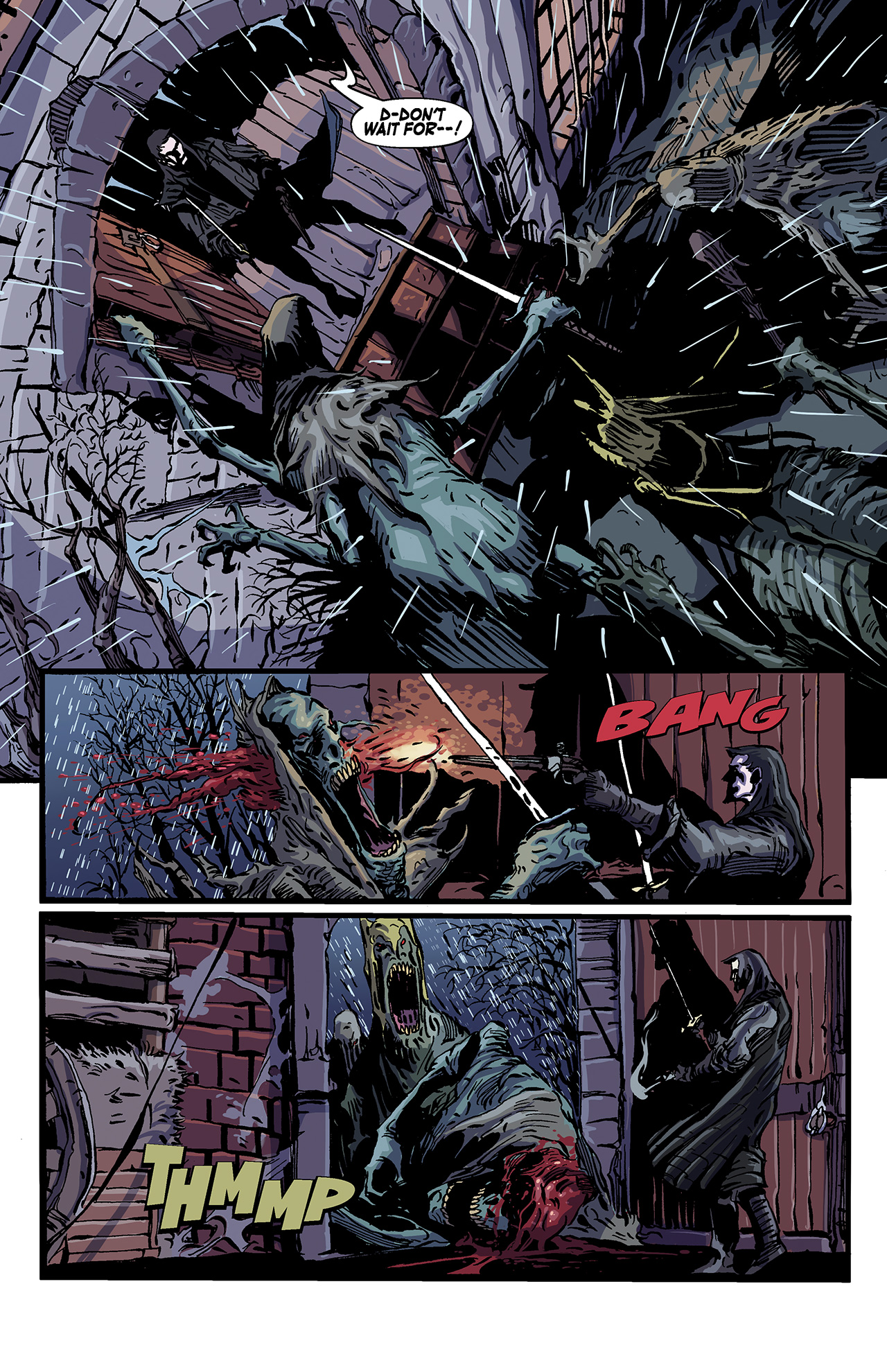 Read online Solomon Kane: Death's Black Riders comic -  Issue #4 - 4