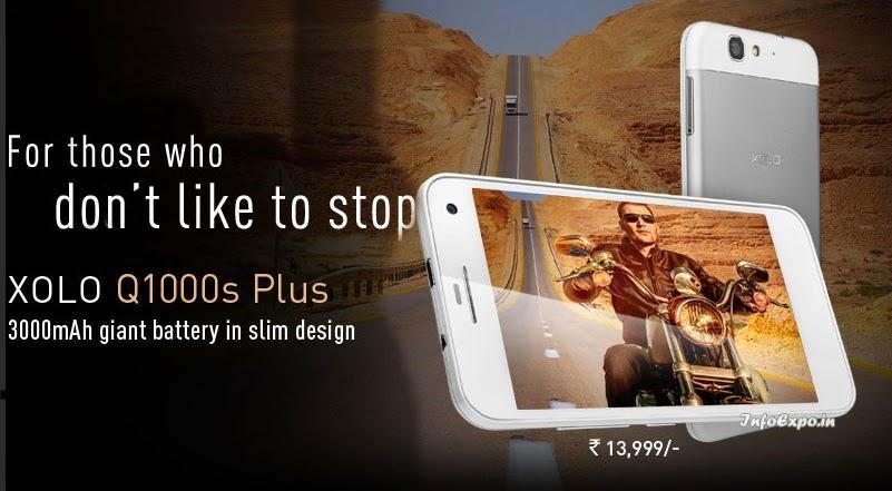 Xolo Q1000s Plus :5-inch,1.5GHz Quad-core, 2GB RAM Android Phone Specs,Price