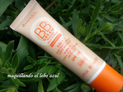 bb cream rimmel tono light