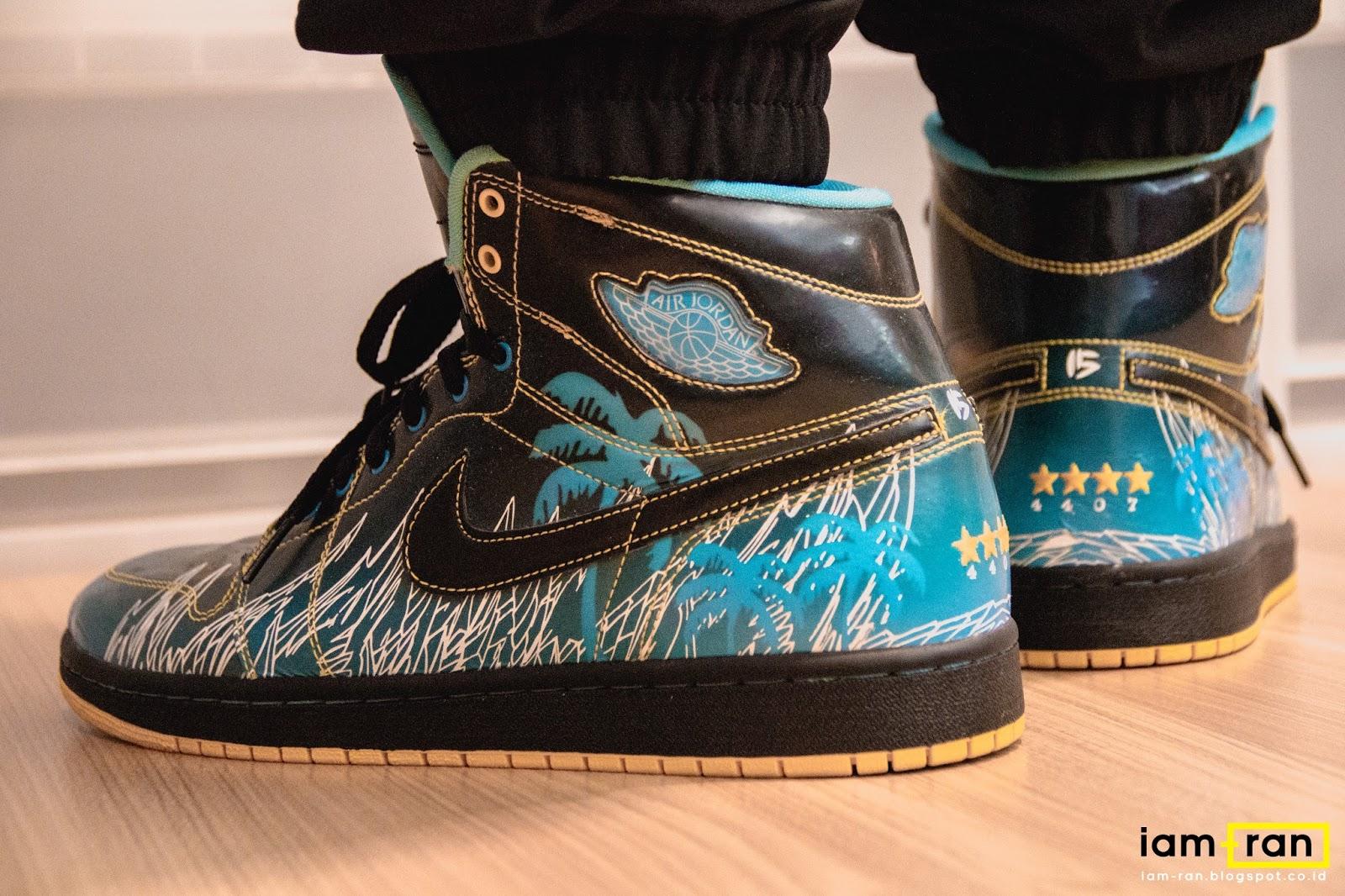IAM-RAN  ON FEET   Dipsky - Nike Air Jordan 1 DB