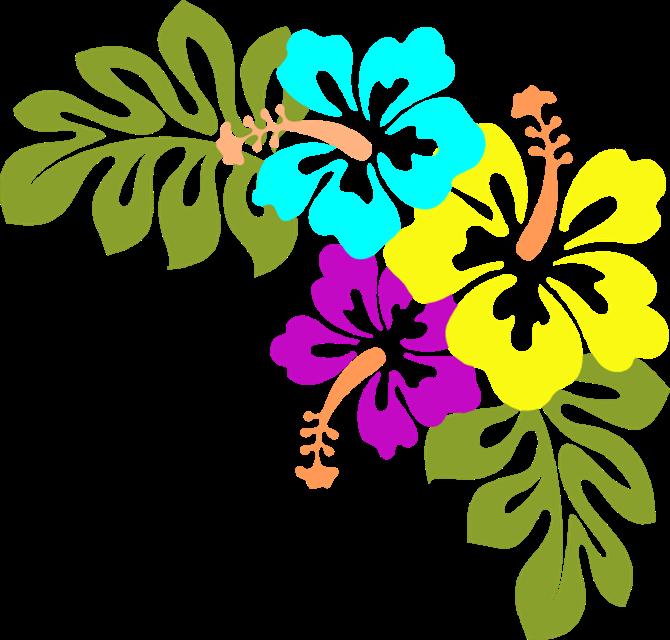 Hawaiian Flowers Clip Art Free | Many Flowers