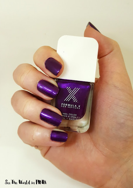 "Formula X ""Petal to the Metal"" Polish"