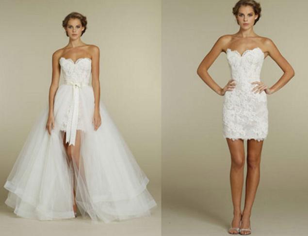 Vestidos%2B2%2Bem%2Bum16 - Uma noiva e 2 vestidos - Vestidos transformáveis 2 em 1