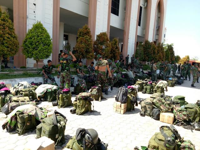 Satgas Kesehatan TNI Tangani Bencana Gempa Aceh Kembali ke Jakarta