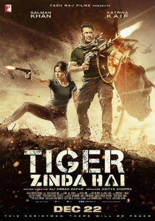Tiger Zinda Hai 2017 Pre DVDRip 400MB 480p Full Hindi Movie Download Watch Online Free bolly4u
