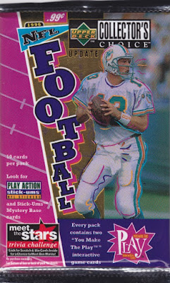 1996 Upper Deck Collector's Choice Update Football