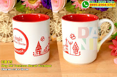 Mug NK Twotone Merah Premium