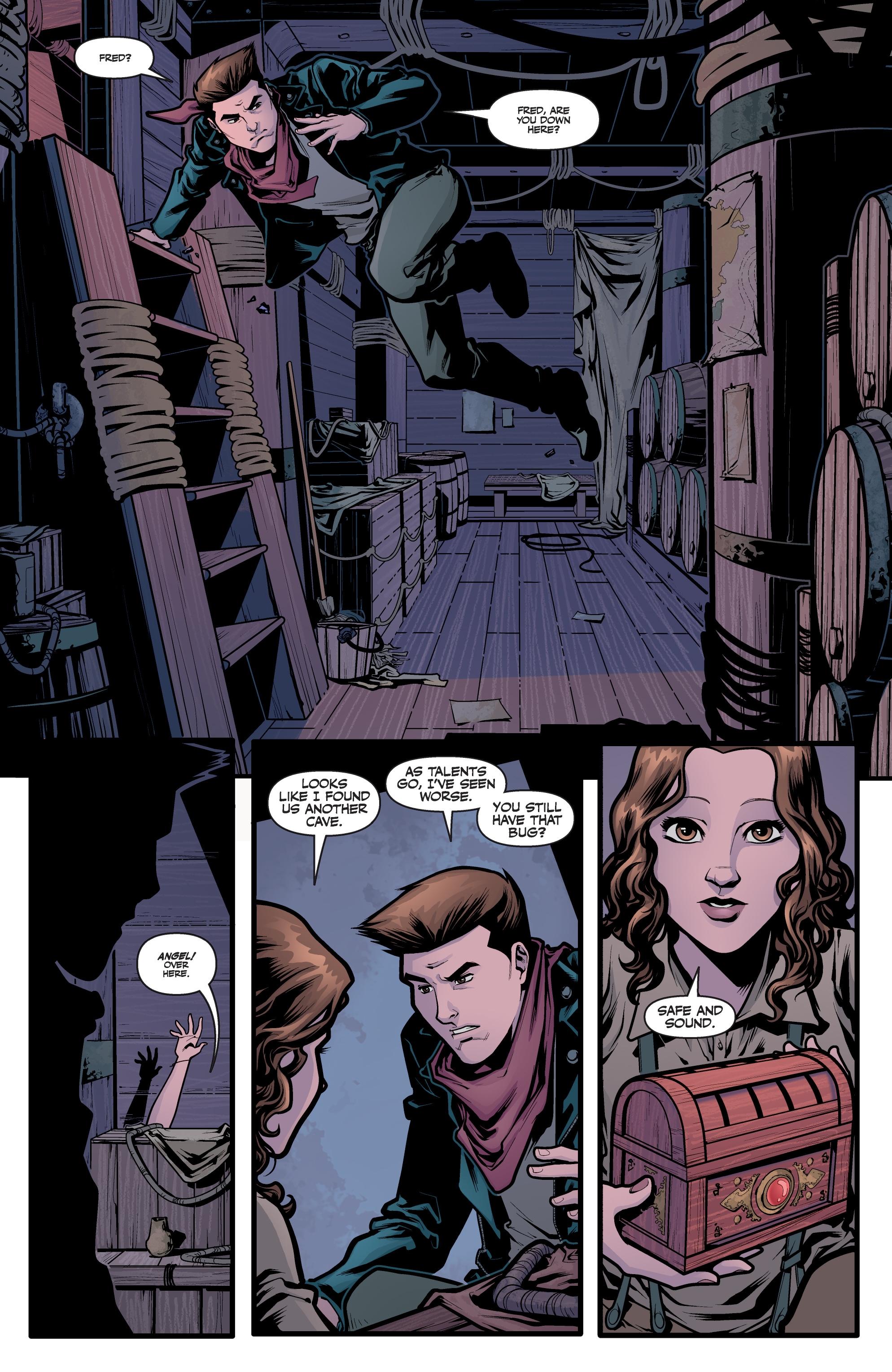 Read online Angel Season 11 comic -  Issue #6 - 8