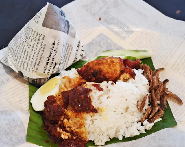 Nasi Lemak Kukus Merdeka 2016 Hawker Street Food Marriot Putrajaya Selangor