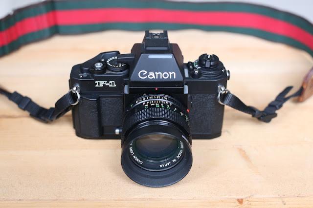 Canon New F-1 底片單眼相機