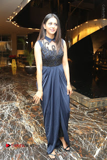 Actress Rakul Preet Singh Stills in Beautiful Blue Long Dress at Dhruva Salute to Audience Event  0122.JPG