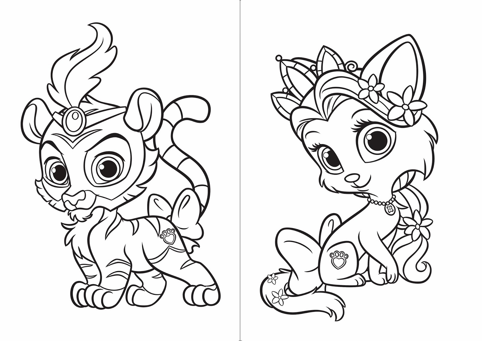 Baby Pets Coloring Pages