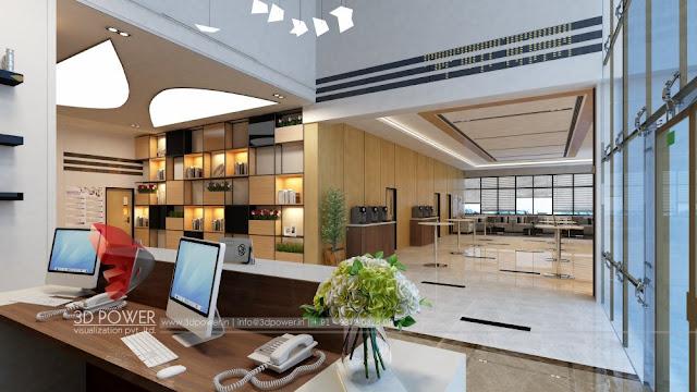 3d Interior Design of Warehouse