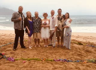 Hanalei Bay Wedding, Larry LaSota, Kauai Wedding Ceremonies