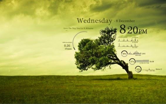 rainmeter weather