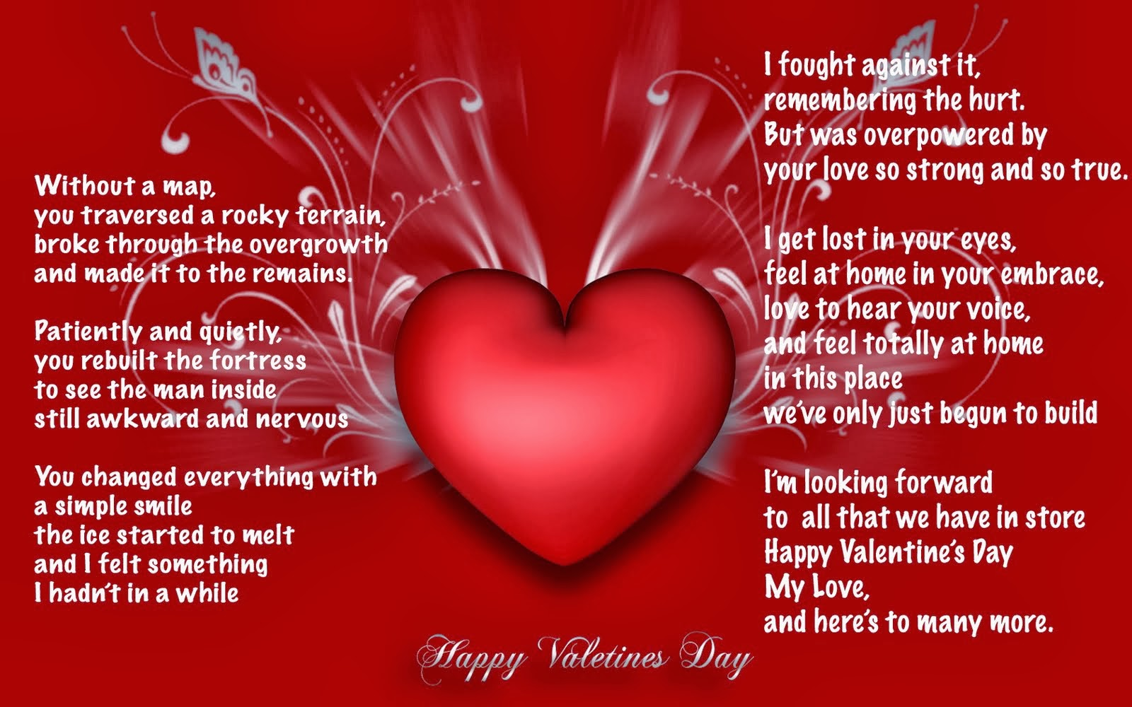 Doc882900 Valentine Day Cards for Wife Happy Valentines day – Best Valentines Day Card Messages