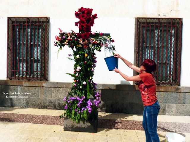 Cruz de Mayo2016  emotiva en Bañaderos, Arucas