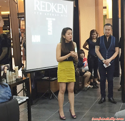 Redken Frizz Dismiss, Hair Pampering, Redken, Redken Malaysia, Atmosphere Loft Hair Saloon, Atria Shopping Centre, Anti Frizz, Haircare