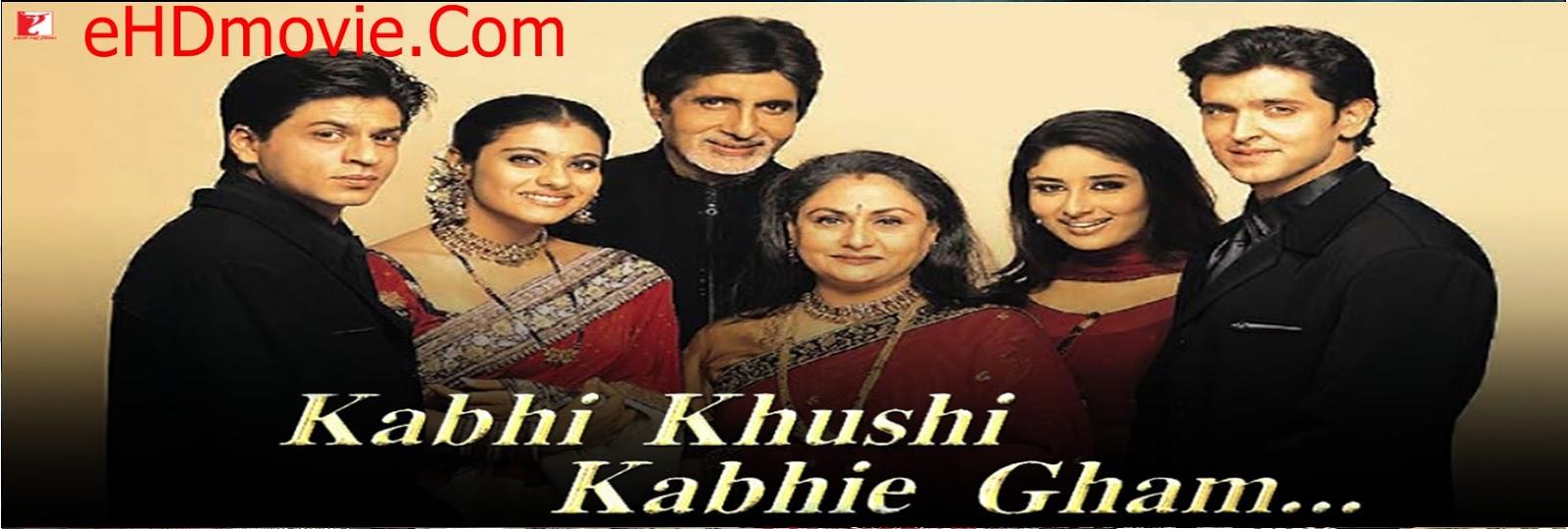 Kabhi Khushi Kabhie Gham 2001 Full Movie Hindi 720p - HEVC - 480p ORG BRRip 600MB - 800MB - 950MB - 1.4GB ESubs Free Download